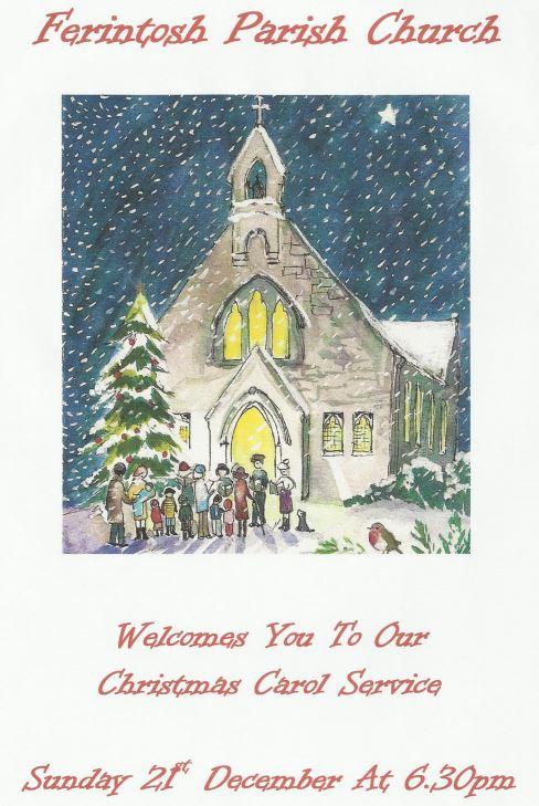Carol Service Poster 2014